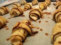 Kakaós-vaníliás tekercs rizskovászból | Gluténmentes, tejmentes kísérleti recept Pink Dust blog