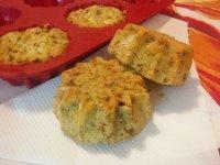 Sós cukkinis muffin | Gluténmentes, tejmentes recept