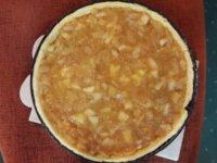 Almás pite sok dísszel + extra keksz | Gluténmentes, tejmentes, cukormentes recept Pink Dust blog