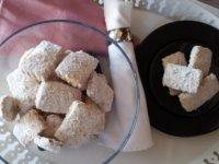 Omlós, ízletes diós keksz | Gluténmentes, tejmentes recept Pink Dust blog